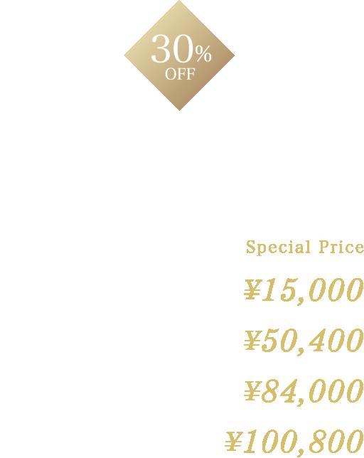30%OFF顔(ひげ)